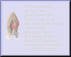 eyes of the Lord